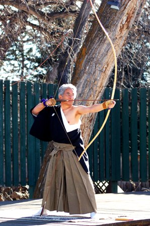 Kyudo Traditional Japanese Archery In Boulder Colorado